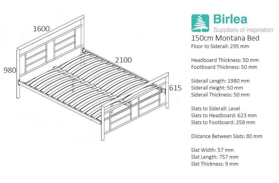 Birlea Montana Bed Frame