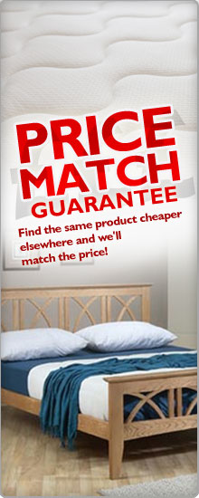 Price Match Guarantee - find the same product cheaper elsewhere and we will match the price