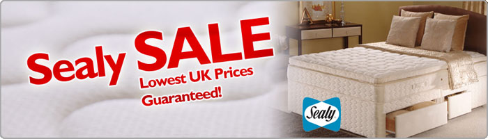 Sealy Sale - lowest uk prices guaranteed